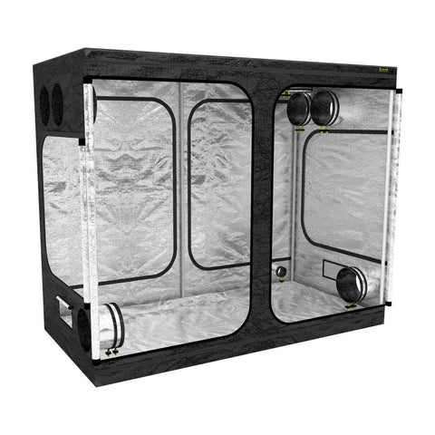 LAB240-S 2.4m x 1.2 x 2m Grow Tent | Left View
