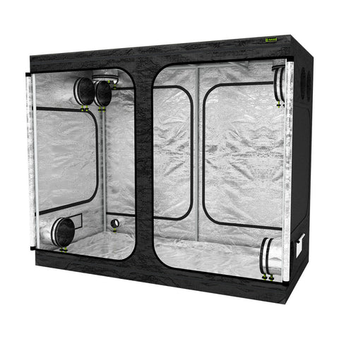 LAB240-S 2.4m x 1.2 x 2m Grow Tent | Right View