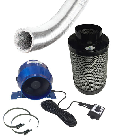 "4"" Fan and Filter Kit"