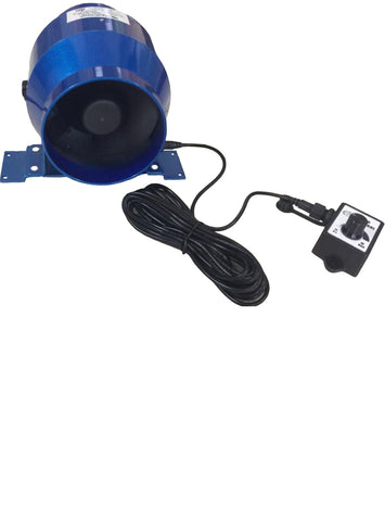 "Hydrolab 4"" EC Acoustic Fan 100mm"