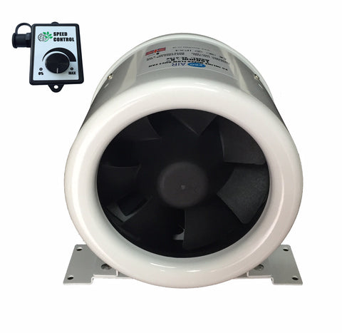 "Pro Air Acoustic Fan 6"" Powerful EC Fan and Controller"