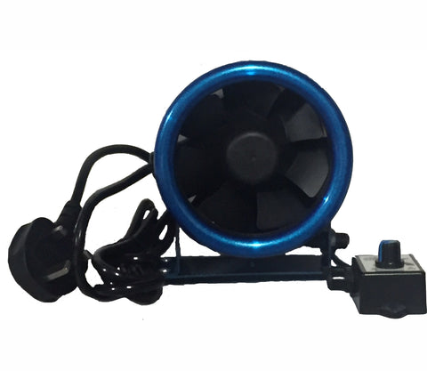 "Hydrolab 5"" EC Acoustic Fan 125mm"