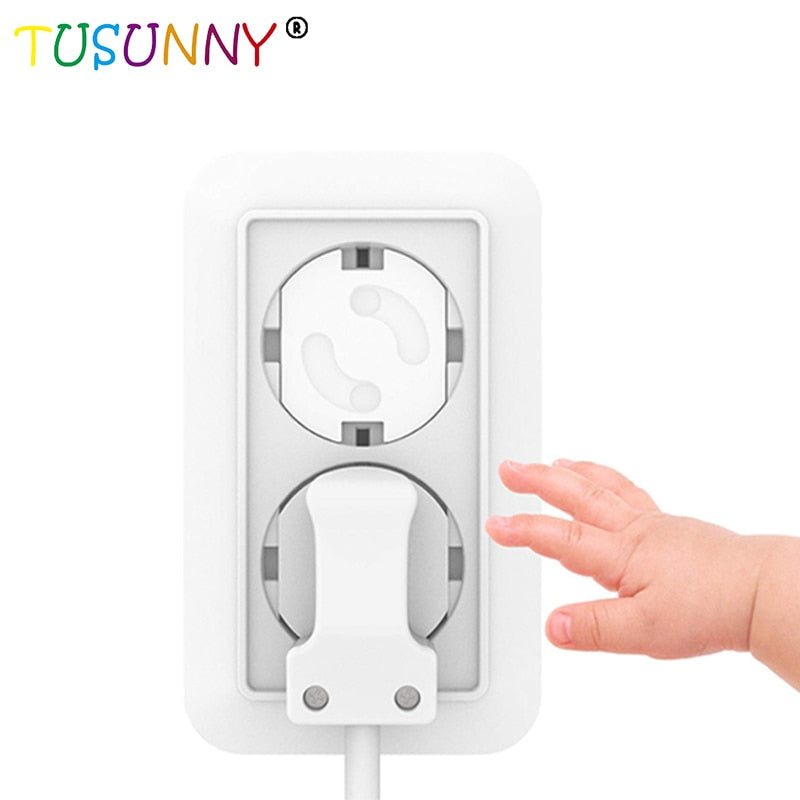 10pcs US Child Safety Electrical Outlet Cover Baby Anti Electric Shock Protector
