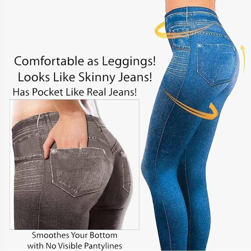 Denim Leggings - 24x7 Deals Online