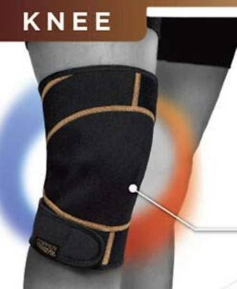 Copper Fit Rapid Relief Hot and Cold Knee Wrap Knee Knee, Calf & Thigh Support  (Black) - 24x7 Deals Online