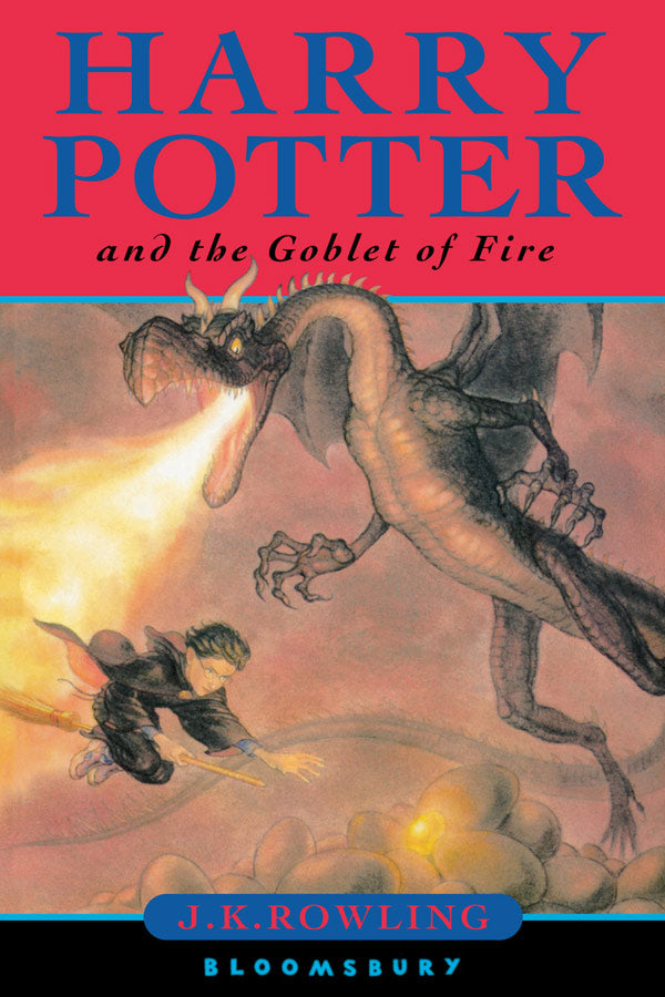 Harry Potter And The Goblet Of Fire, By J.K. Rowling