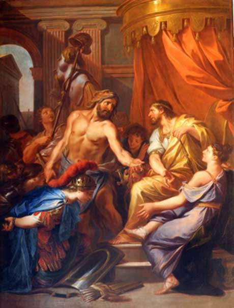 Hercules and Eurysthaeus