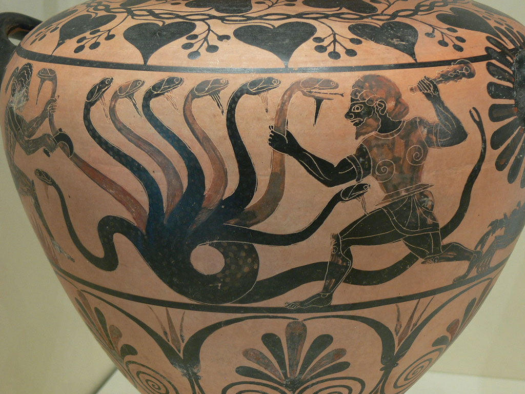 Hydra of Lerna Against Heracles
