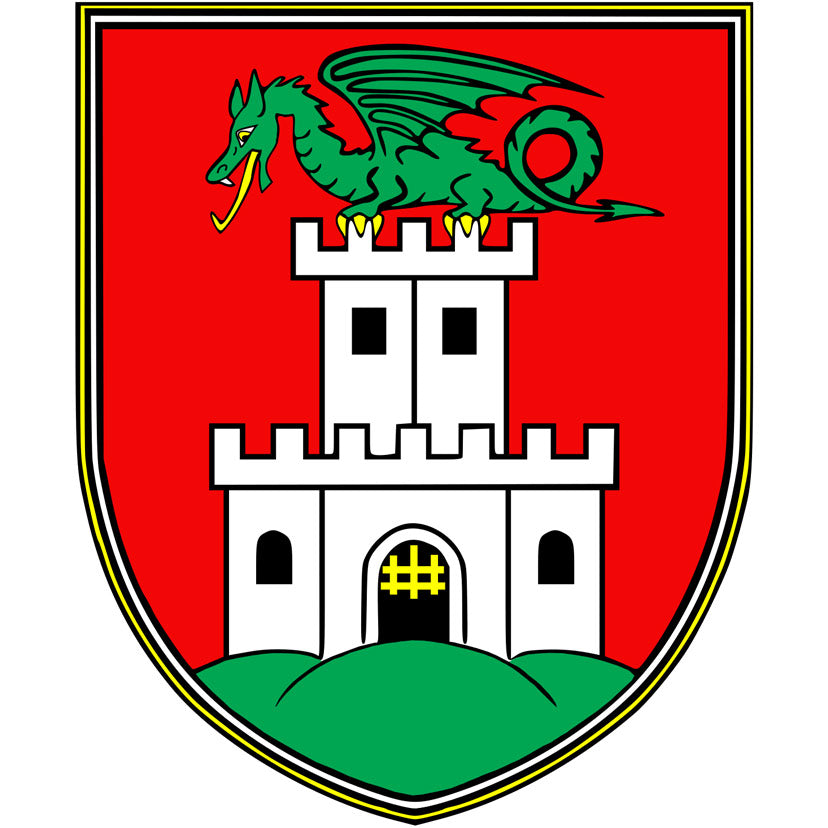 Coat of arms of the city of Ljubljana