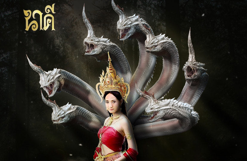 """Contemporary Thai Dragon Art in the TV serial """"Nakee"""""""
