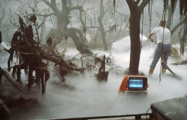 On the set of The Neverending Story at Bavaria Studios