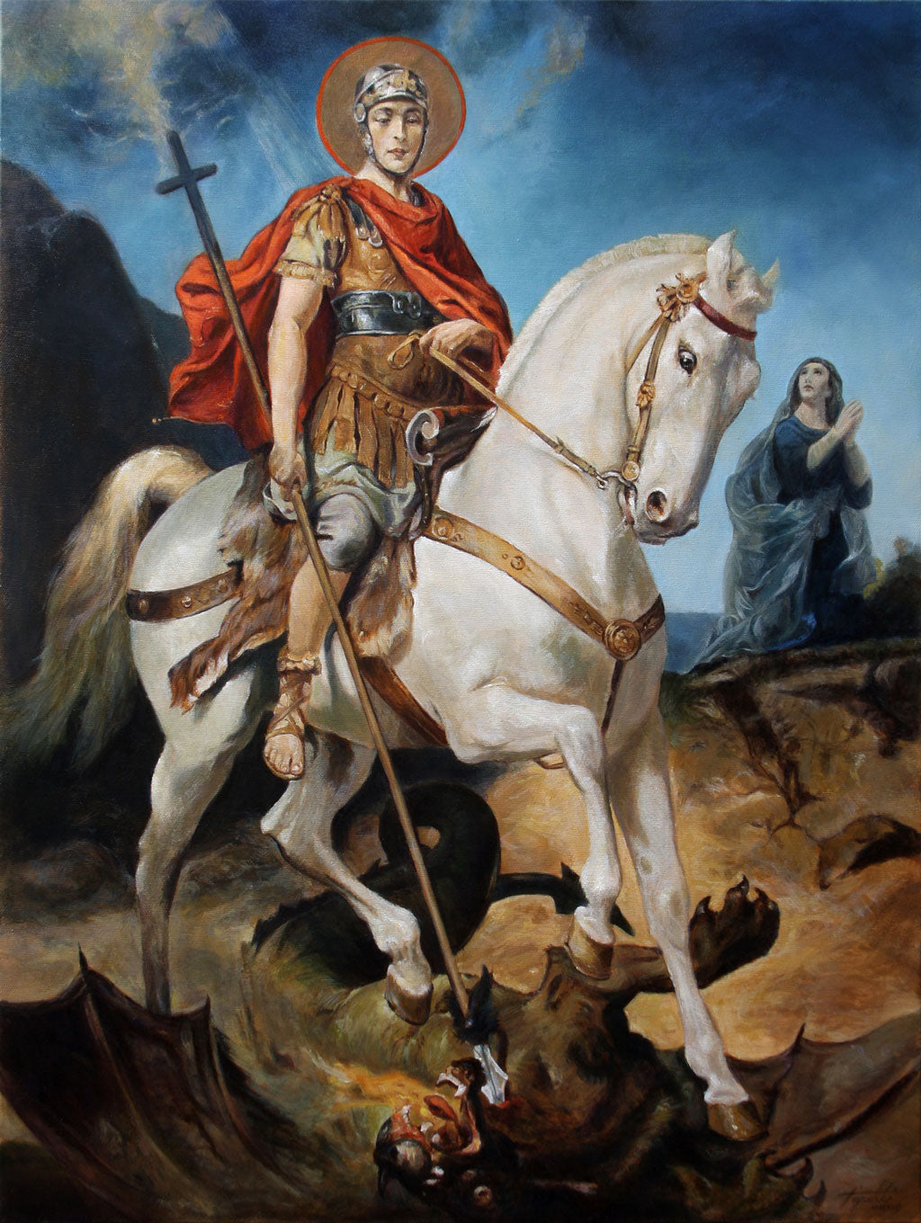 Saint George and the Dragon, Darko Topalski