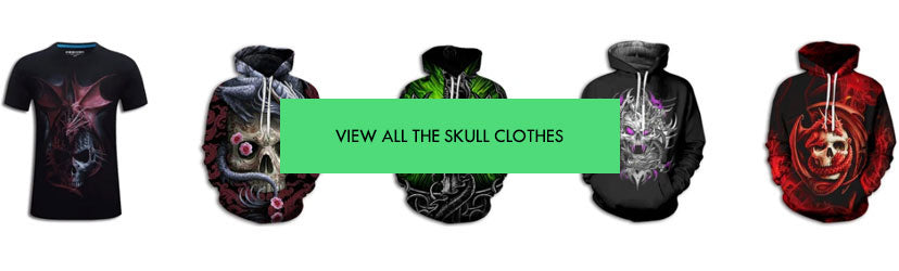 Skull clothes on Dragon vibe