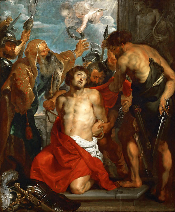 Saint George martyrdom by Rubens