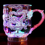 3D LED Dragon Mug