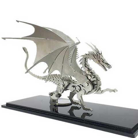 3D Metal Puzzle of the Dragon