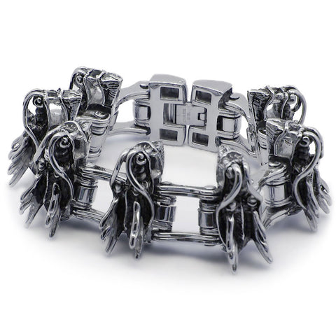 Dragon Chain Link Bracelet for Men (Stainless Steel)