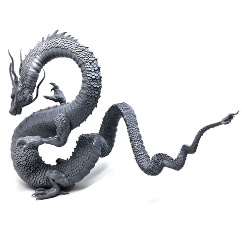 Ancient Chinese Dragon Figurine