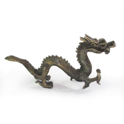 Ancient Chinese Dragon Statue
