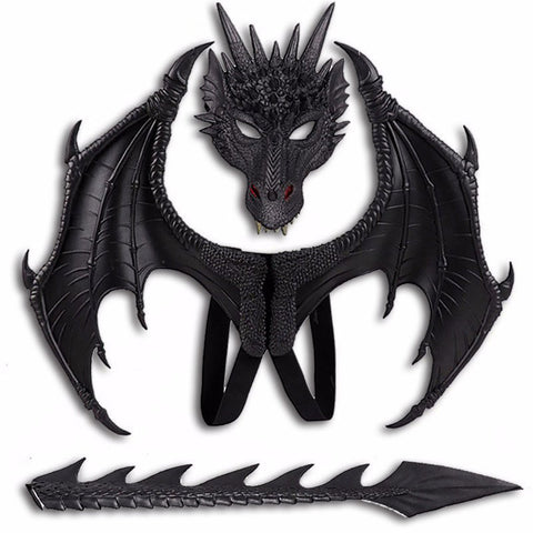 Black Dragon of Darkness Costume