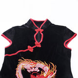 Black Dragon Dress