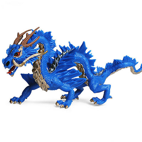Blue Chinese Dragon Toy