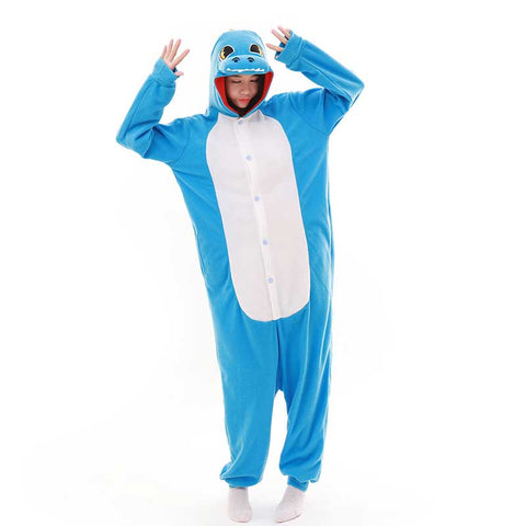 Blue Dragon Adult Onesie