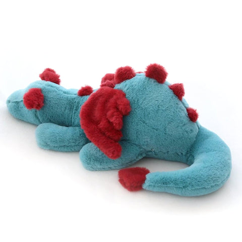 Blue Dragon Plush With Red Wings