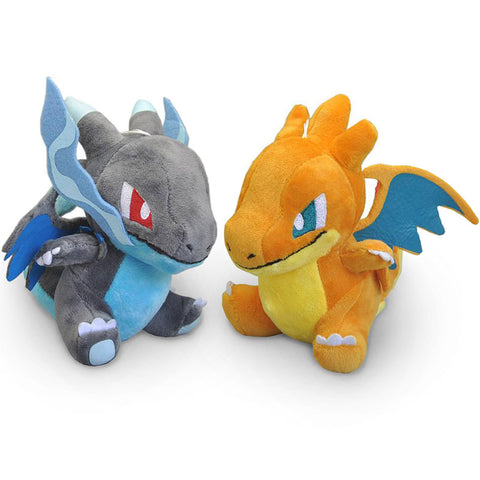 Charizard X & Y Dragon Plushies