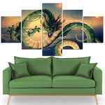 Chinese Dragon Canvas Art