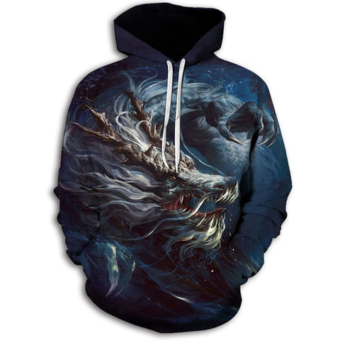 Chinese Dragon Fantasy Hoodie