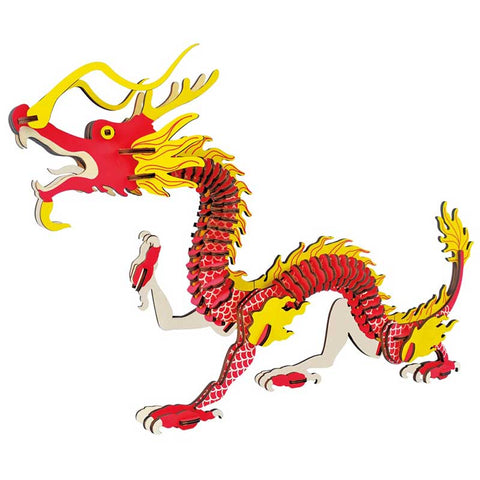 Chinese Dragon Wooden Puzzle