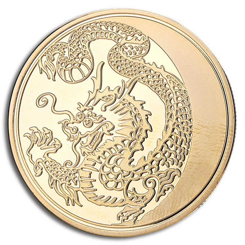 Chinese Lucky Dragon Coin