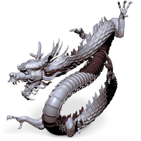 Chinese Lucky Dragon Figurine