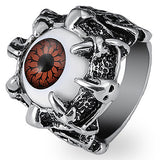 Very Cool Dragon Eye Ring (red)