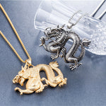 Cool Dragon Necklace (Stainless Steel)