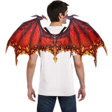Cosplay Red Dragon Wings