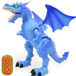 Blue Dino Robot Dragon