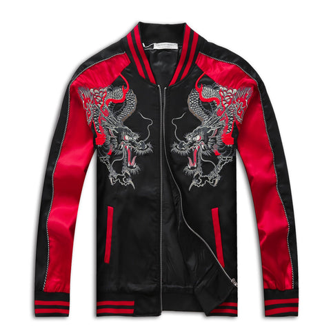 Double Japanese Dragon Jacket