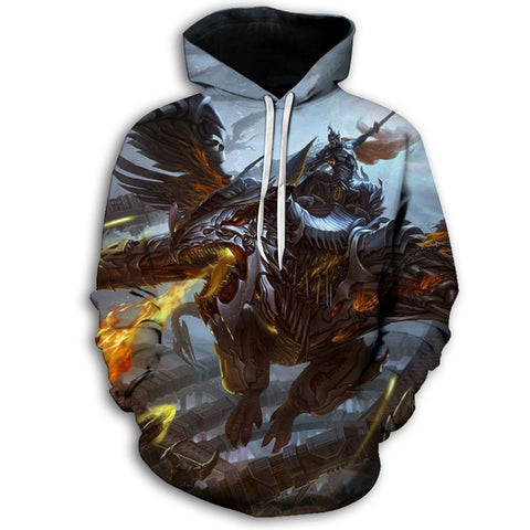 Dragon and Knight Hoodie