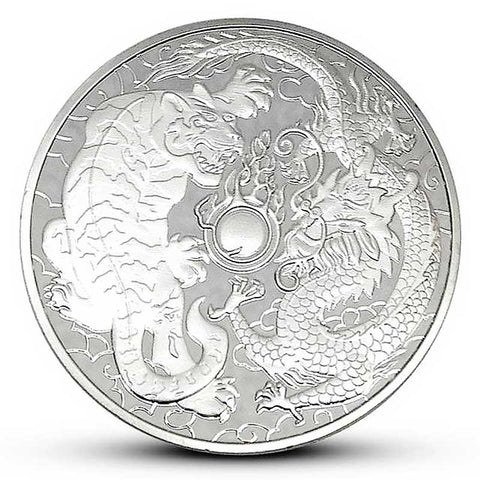 Dragon and Tiger Silver Coin
