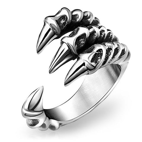 Dragon Claw Finger Ring (Stainless Steel)