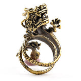 Dragon Coiling Ring (Stainless Steel)