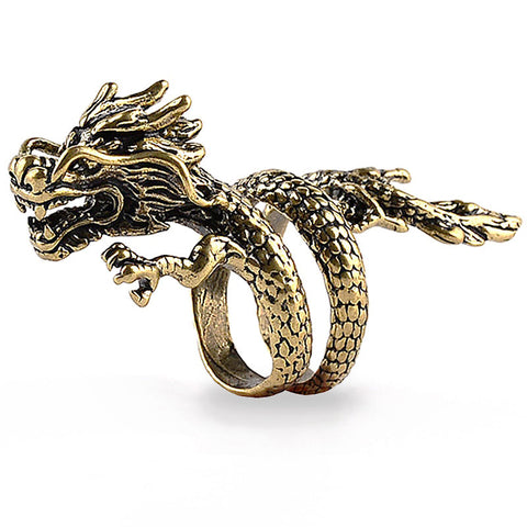 Dragon Coiling Ring