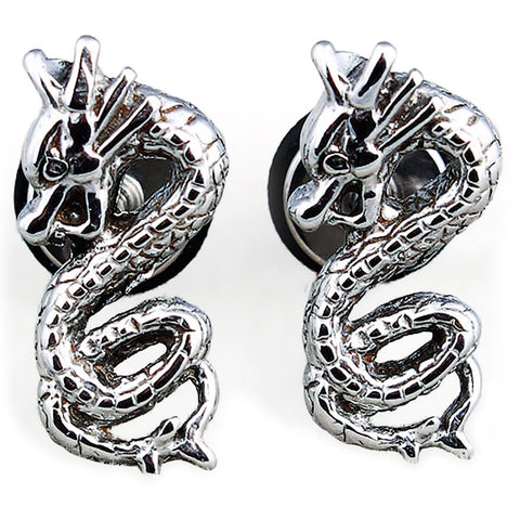 Dragon Earrings For Kids (Stainless Steel)