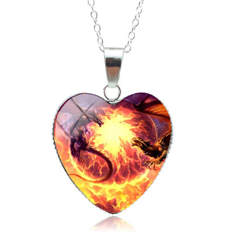 Dragon Fight Necklace