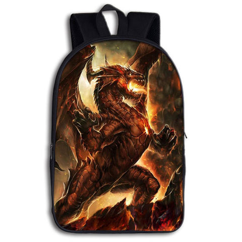 Dragon Tongue of Fire Backpack