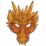 Fire-Breathing Orange Dragon Costume