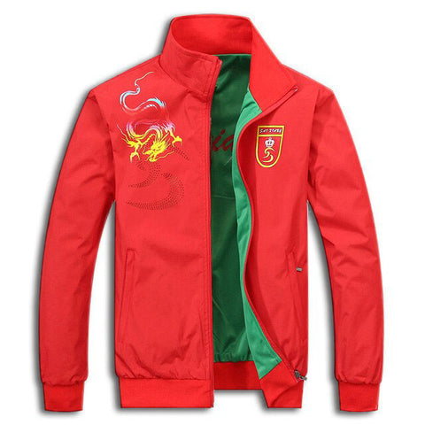 Dragon Red Jacket