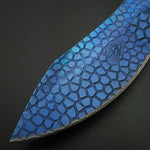 Dragon Blue Metal Knife
